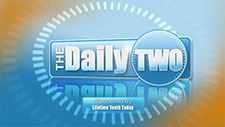 the daily two logo