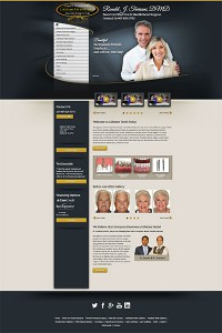 example of homepage long form