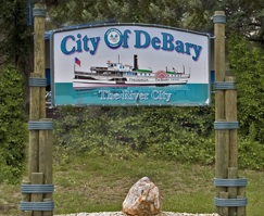 city of debary sign